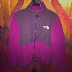 Purple Women's The North Face Denali Jacket